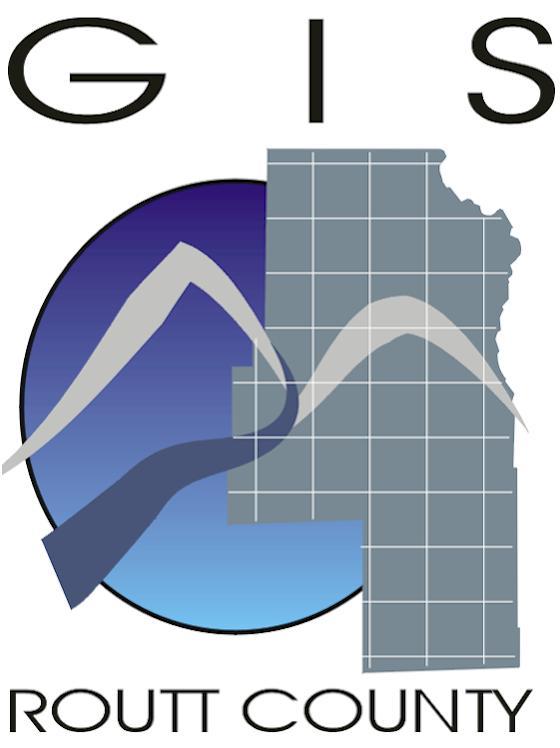 Routt County Open Data logo